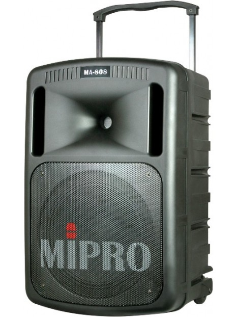 Enceinte autonome Mipro MA808 avec 2HF